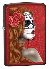 Зажигалка ZIPPO 28830 Day of the Dead: Girl