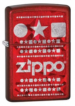 Зажигалка ZIPPO Candy Apply Red 28342