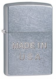 Зажигалка ZIPPO Made in USA Street Chrome 28491