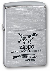 Зажигалка ZIPPO Hunting Tools Brushed Chrome 200 Hunting Tools