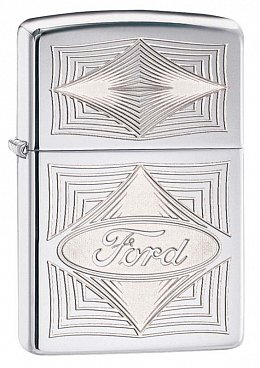 Зажигалка ZIPPO 28625 Ford High Polish Chrome