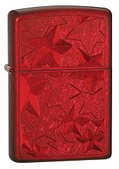 Зажигалка ZIPPO Stars Candy Apply Red 28339