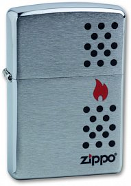 Зажигалка ZIPPO Chimney Brushed Chrome 200 Chimney
