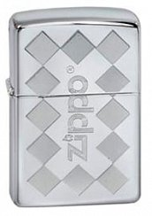 Зажигалка ZIPPO ZFramed High Polish Chrome 250 ZFramed