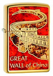 Зажигалка ZIPPO 29244 Great Wall of China - Великая Китайская Стена