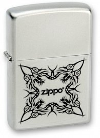 Зажигалка ZIPPO Tattoo Design Satin Chrome 205 Tattoo Design