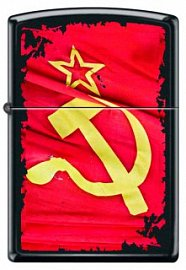 Зажигалка ZIPPO Серп и Молот 218 SOVIET FLAG SICKLE