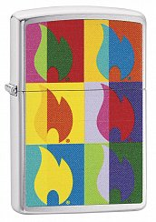 Зажигалка ZIPPO 29623 Abstract Flame Design