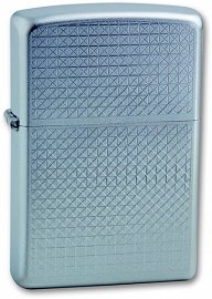 Зажигалка ZIPPO Diamond Plate Satin Chrome 205 Diamond Plate